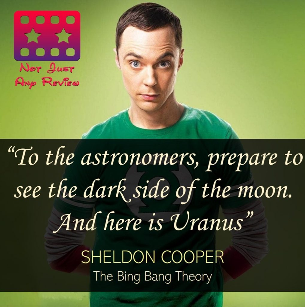 quotes of Sheldon Cooper from The Big Bang Theory